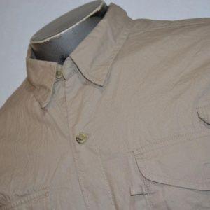 7674 Mens Columbia PFG Fishing Shirt Size Large